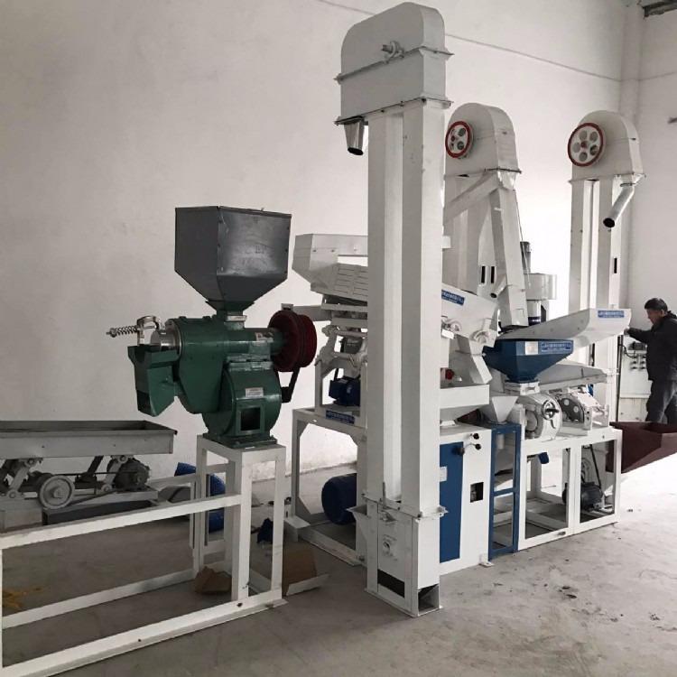 山东粮浩 厂家生产制造 NZJ15T米机 加工设备 碾米机 除尘