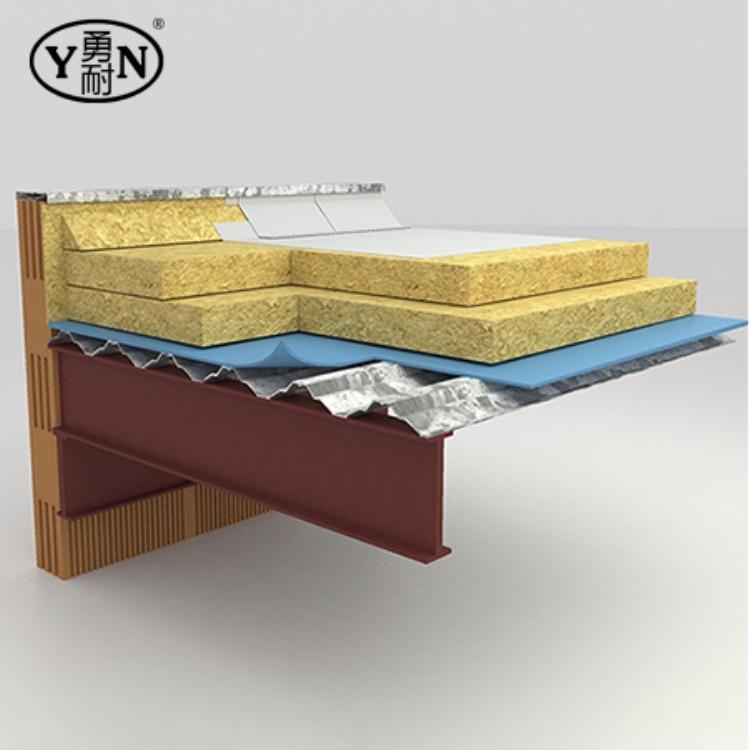 外墙专用憎水岩棉版 玄武岩棉屋面保温隔热层岩棉板