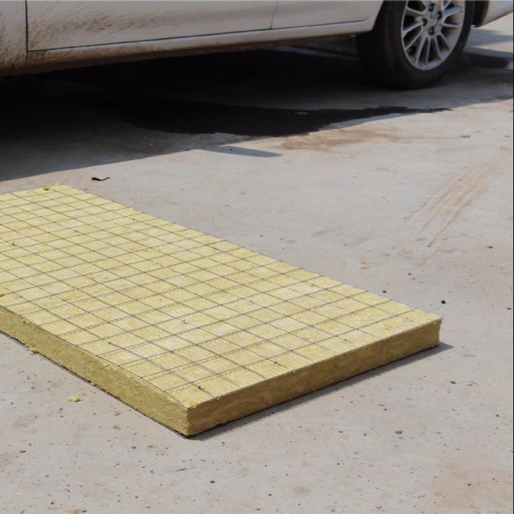 大量销售 外墙岩棉板 憎水岩棉板 插丝岩棉板