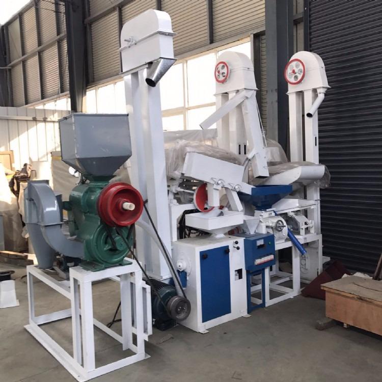 厂家生产制造米机加工设备 碾米机成套设备 滕州粮浩机械生产加工制造