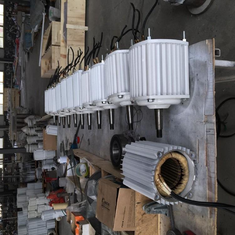 晟成2kw直驱式同步发电机小型永磁发电机
