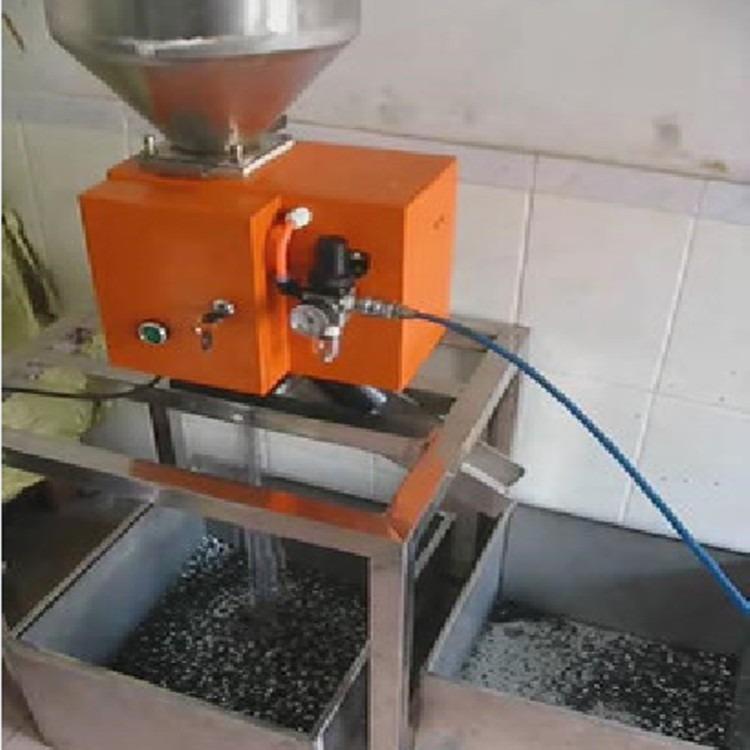 塑料金属分离器,30mm口径塑料金属分离机,分离器分出塑料中的铁,不锈钢,铝,铜,锌