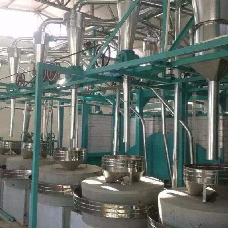 山东粮浩 厂家直销 石磨组合设备 可自由组合机组也可单独使用单组设备 欢迎订购