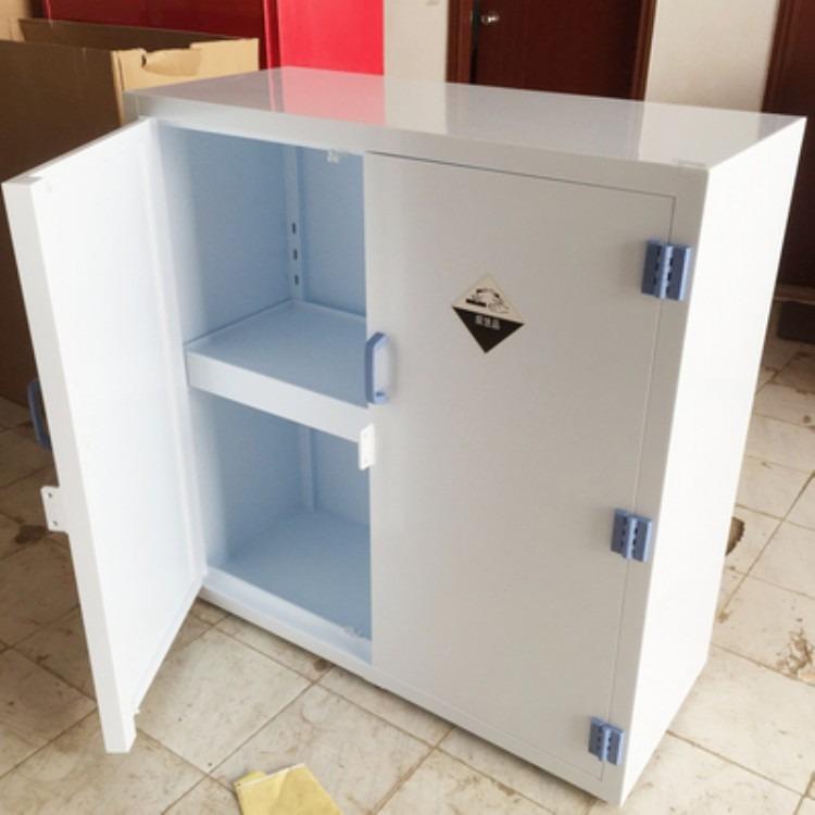 工厂供应12加仑PP酸碱柜强酸碱柜强腐蚀品储存柜盐酸硫酸储存柜