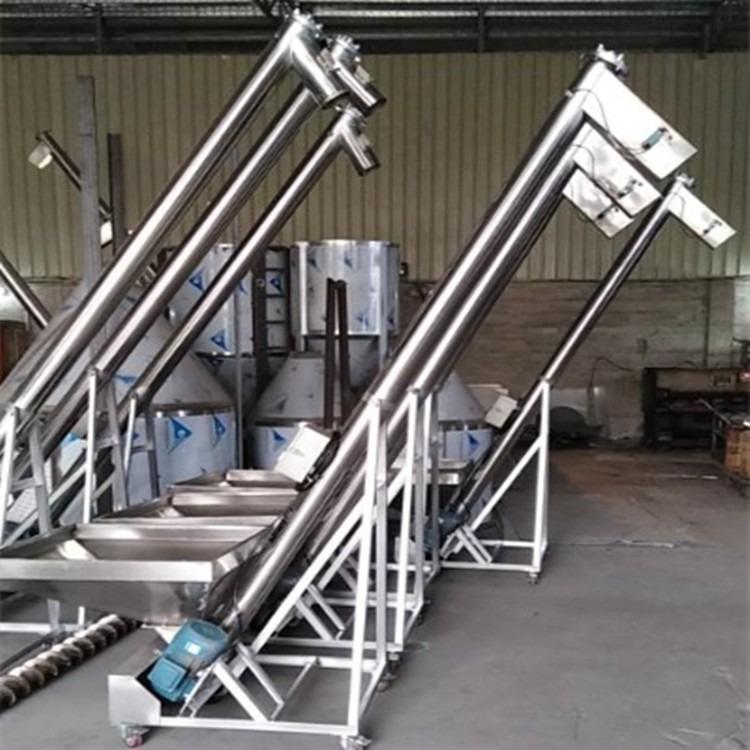 厂家定做2米,3米,5米,7米螺杆上料机,螺旋式自动上料机,不锈钢螺杆上料机
