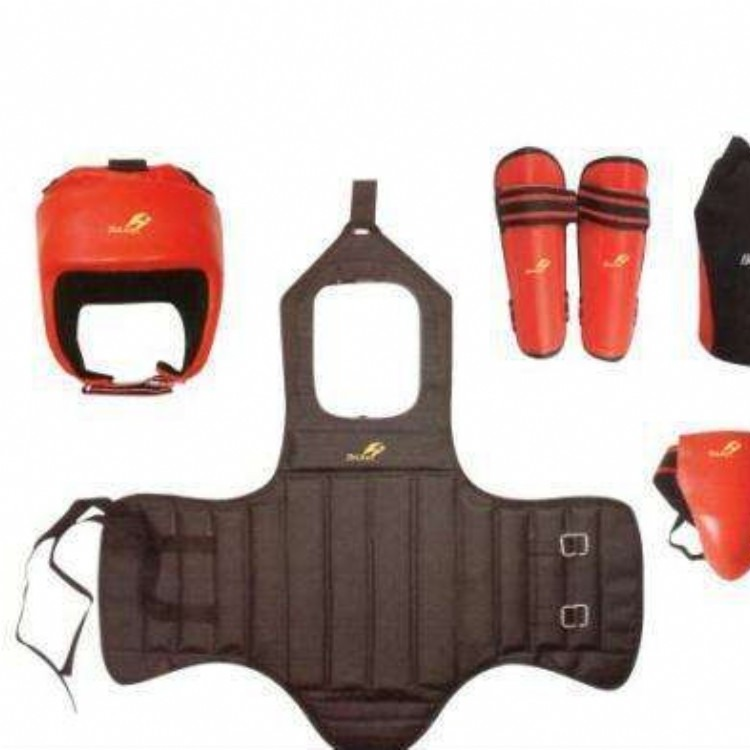 北京军体训练装备散打护具|5件套散打护具|军训散打护具