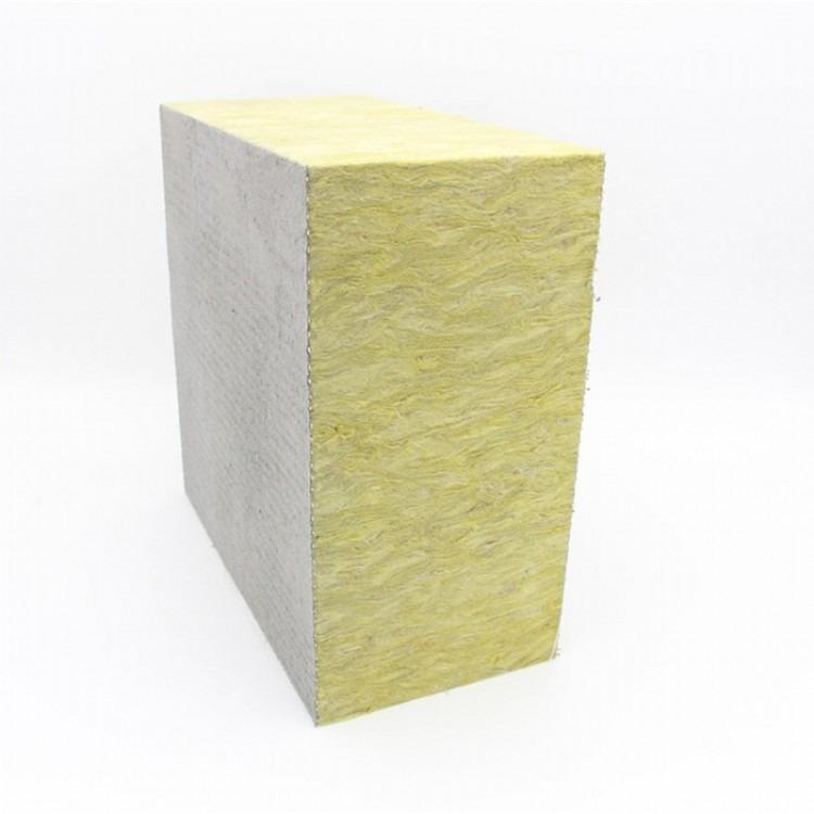 岩棉复合板 外墙岩棉复合板 保温隔热岩棉复合板 机制岩棉复合板 双面水泥砂浆岩棉复合板