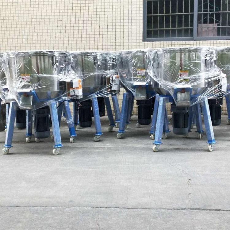 100公斤立式混色机,慢速塑料拌料机,带脚轮塑料混色机,PVS塑料混色机厂家