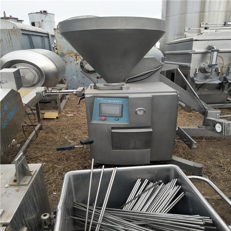 出售二手灌肠机 二手不锈钢灌肠机 二手液压灌肠机 二手定量灌肠机
