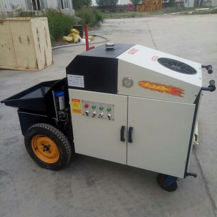 电启动混凝土砂浆输送泵 二次构造柱专用泵 二次构造柱浇筑泵