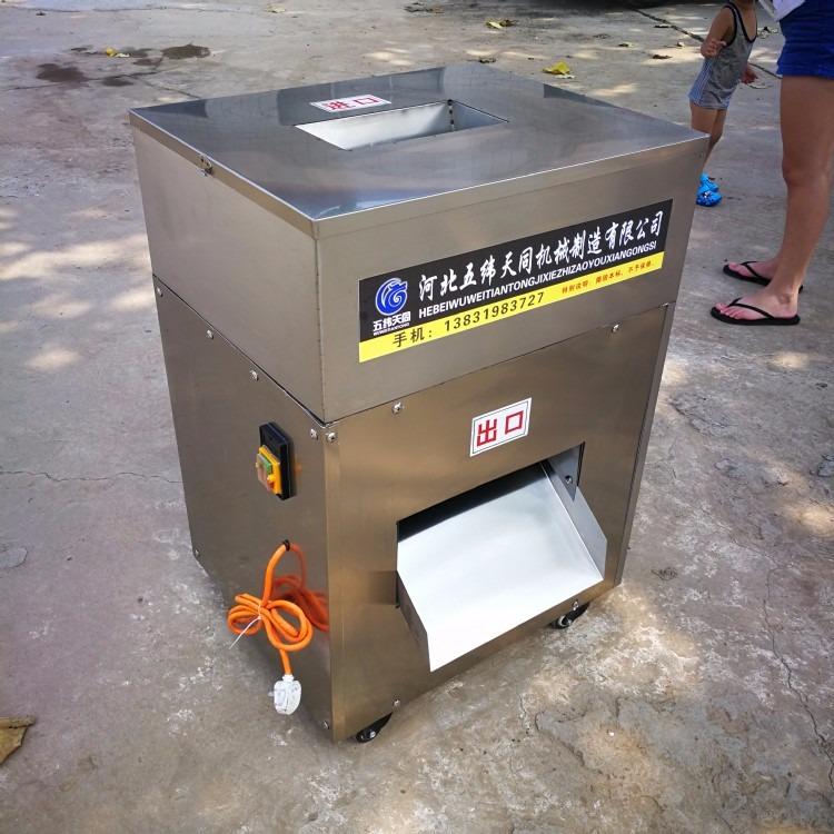 现货供应销售 排骨切块机 剁鸡块机 鲜鸡冻鸡冻鸭切块机猪排切块机 排骨切块机