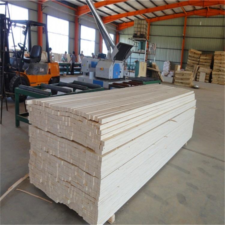 LVL包装木方   免熏蒸杨木层积材   胶合板木方