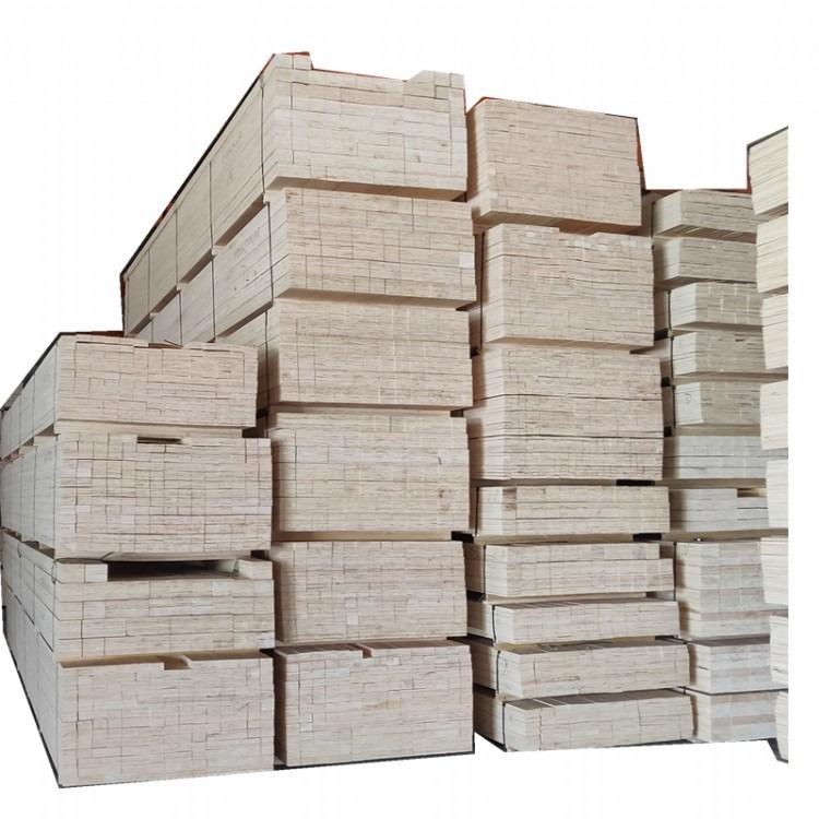 包装箱用LVL木方   杨木LVL单板层积材出口专用