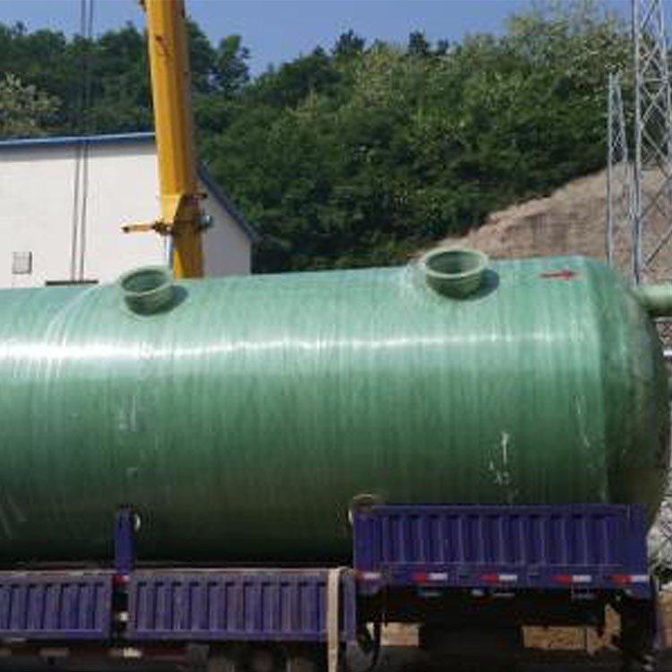 供应整体形生物化粪池 高碑店玻璃钢水罐 标准化粪池容积