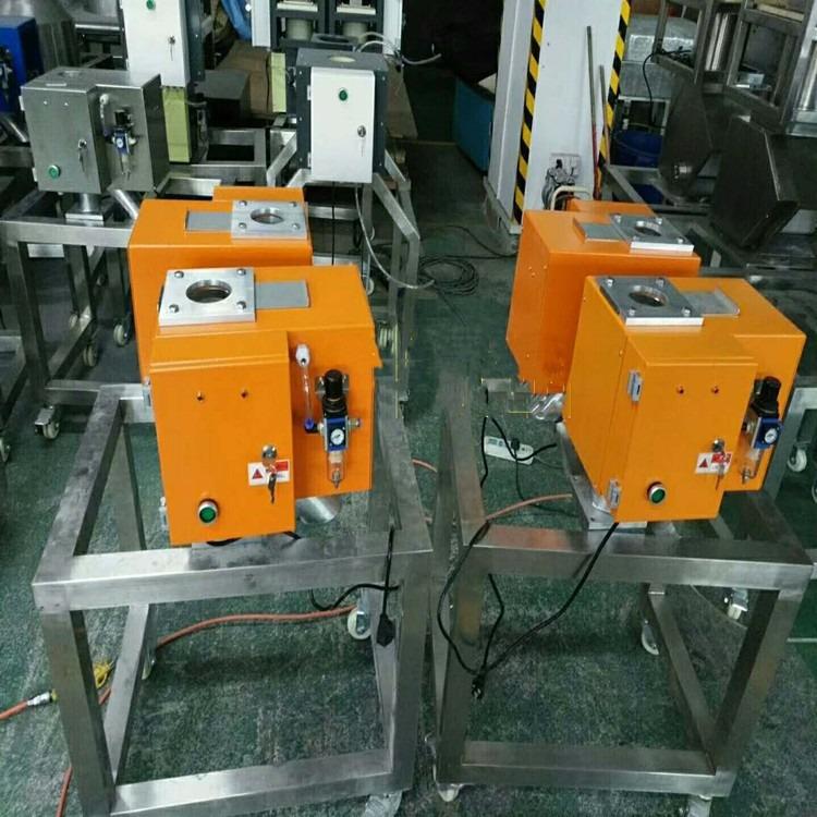 塑料金属分离器,50mm塑料铁,铝,铜,锌,不锈钢分离器,塑料金属杂物分离器厂家