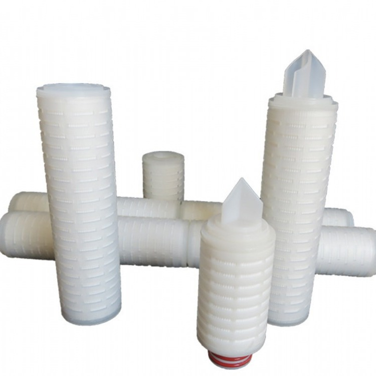 折叠滤芯高效过滤 折叠滤芯用于药液过滤 高效精密折叠滤芯