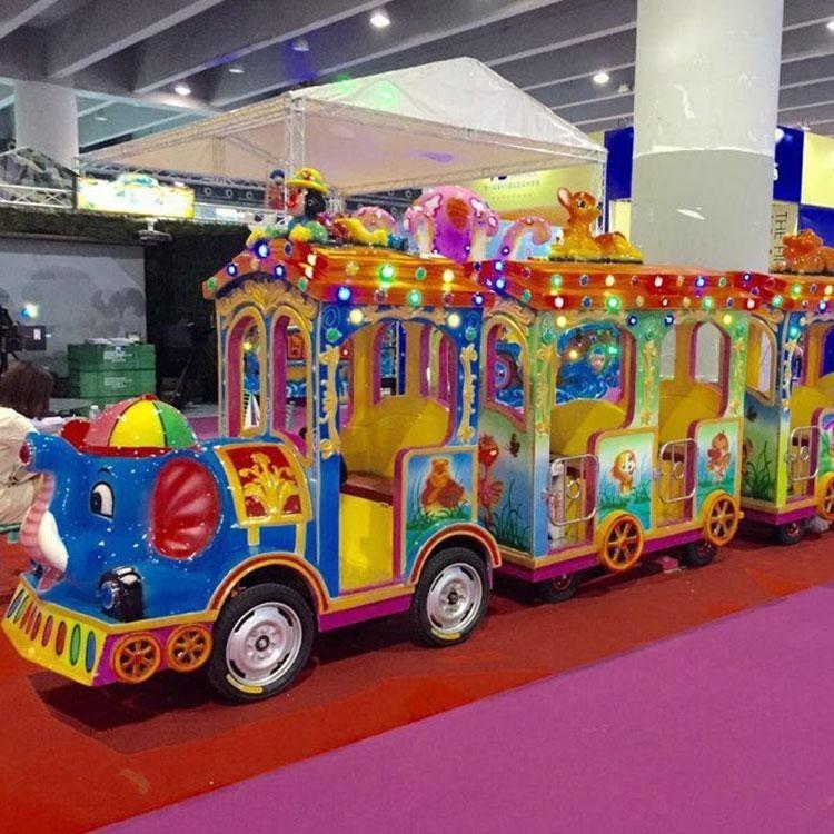 轨道火车-无轨观光列车-儿童电动小火车厂家直销