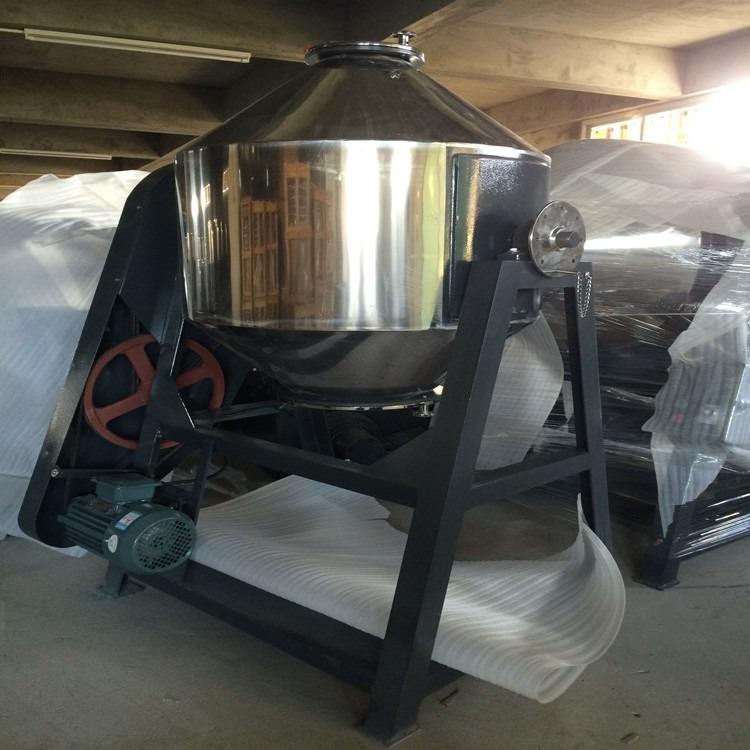 佛文丰50公斤滚筒式拌料机,慢速滚筒式搅拌机,不锈钢滚筒式混料机厂家直销