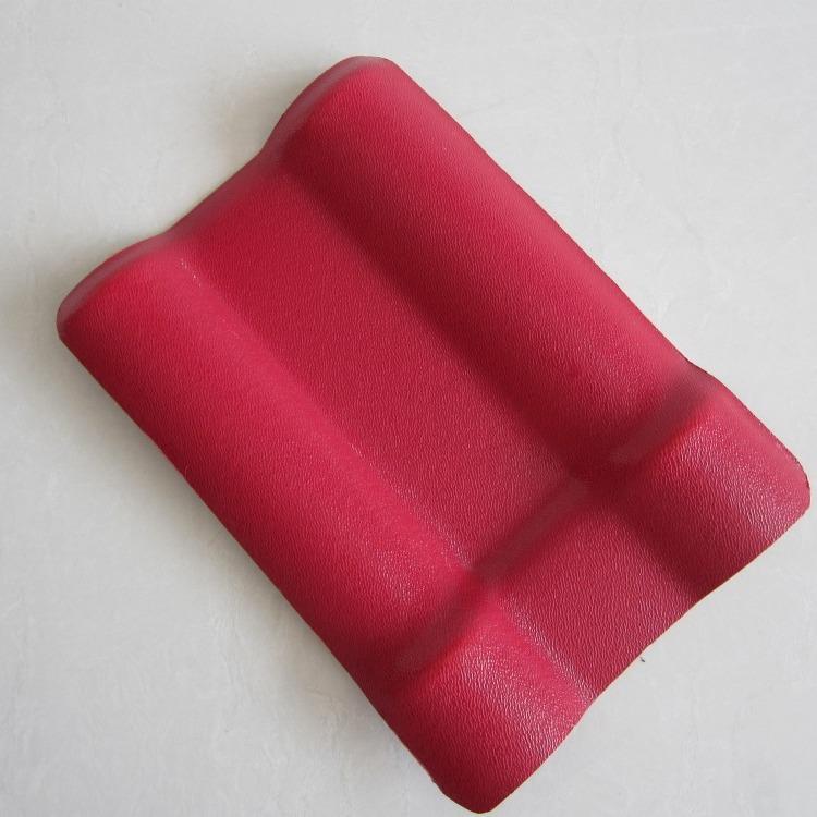合成树脂瓦厂家直销2.0mm优质树脂瓦 定制橙色ASA树脂瓦