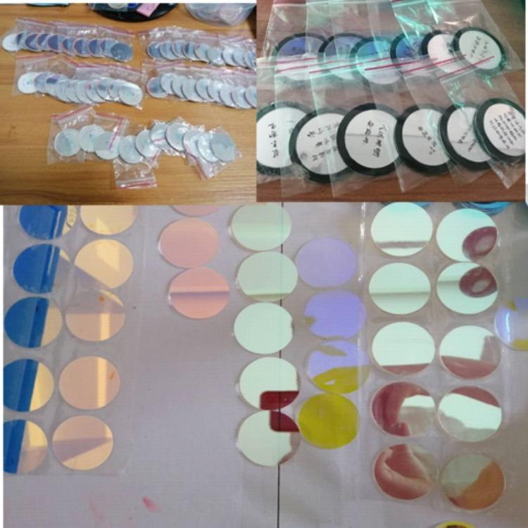 历宏定制logo灯片 led广告灯片 双色(超清镜片)特质玻璃灯片
