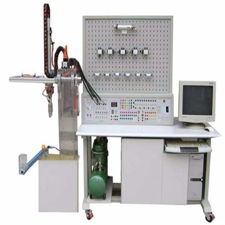 FCQK-07A型机械手PLC控制传动实训系统,液压与气压传动综合实训装置, 液压与气压传动综合实训系统,液压气动设备,