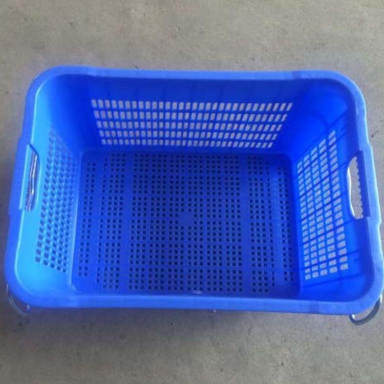 广西乔丰塑料周转箩材质 塑料箱子可免费印字 水果筐尺寸