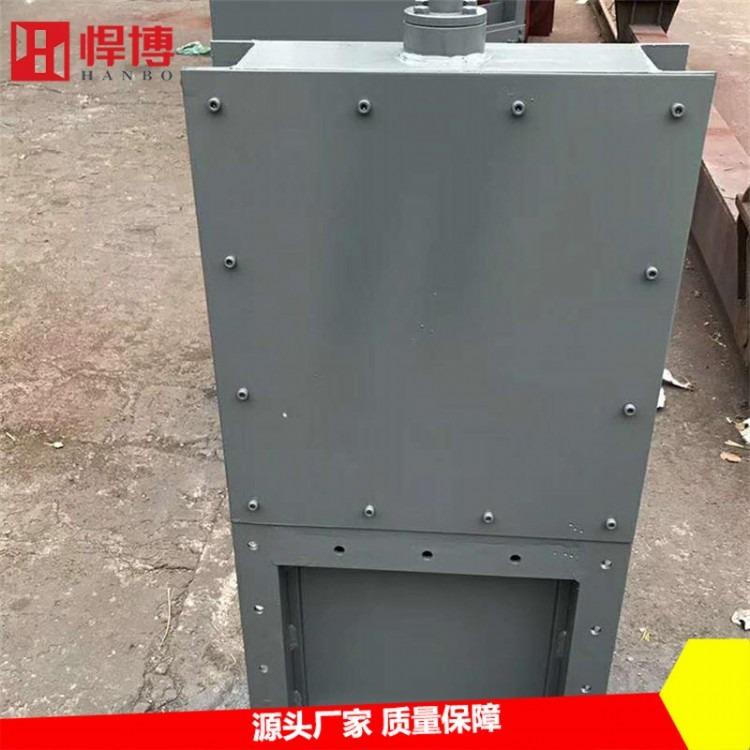 专用插板阀 矿上设备插板阀 结实耐用不锈钢插板阀