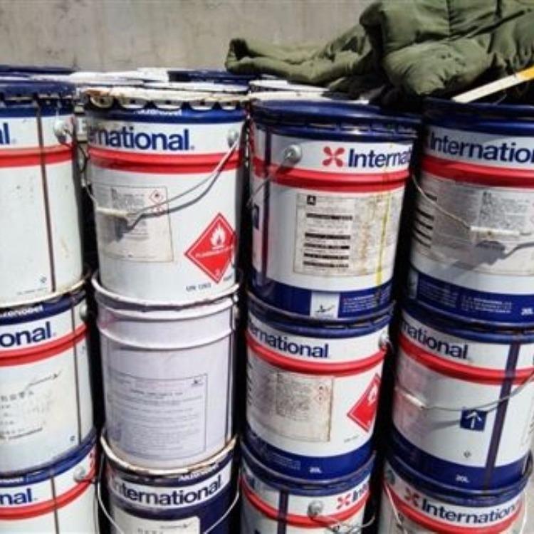回收油漆找松翔化工,上门收购