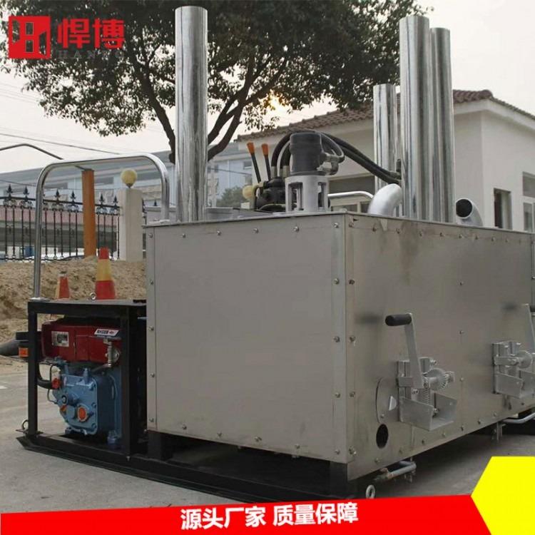热熔釜  厂家直销高效率液压双缸热熔釜 液压双缸热熔釜