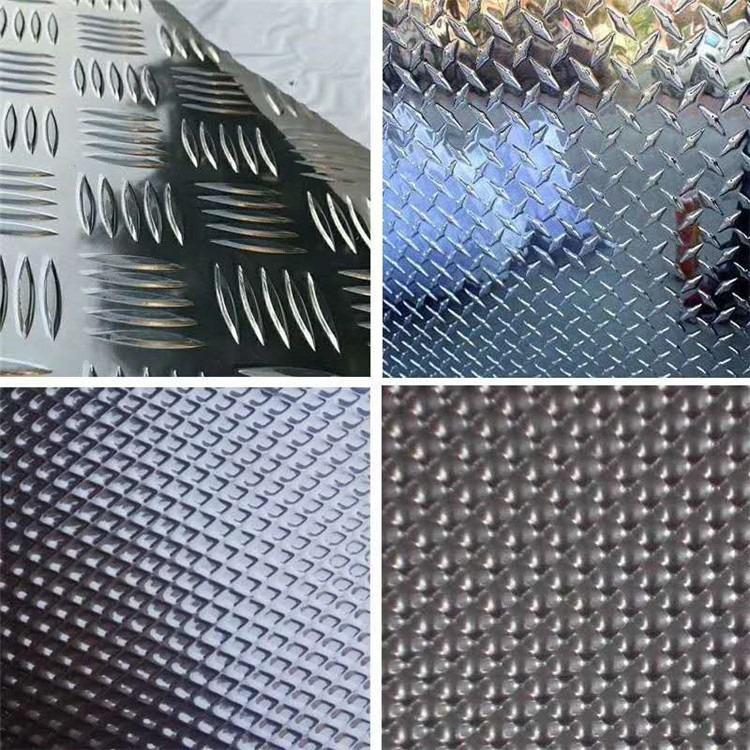 四川省5052h32铝板、热轧花纹板 2.0-12mm花纹板 加厚花纹板 防滑钢板 现货直发
