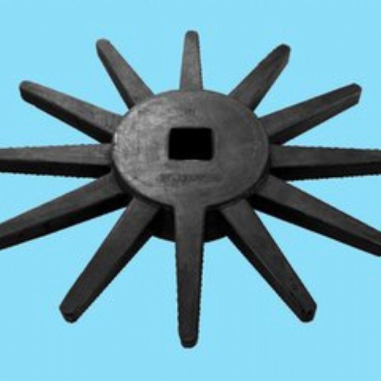 玉米收割机配件 橡胶件 时风 勇猛配件 13齿星轮 农机配件
