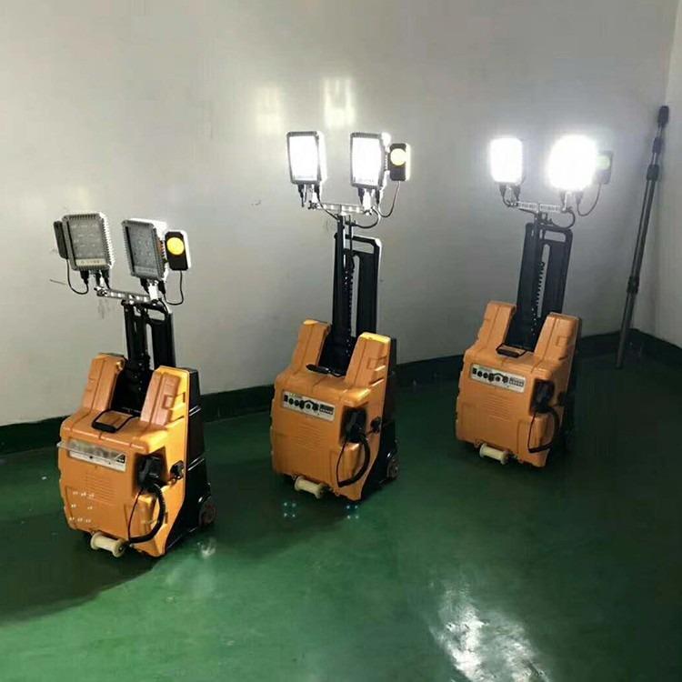 柴油自动升降照明车 移动照明设备遥控自动升降车 多功能防汛应急移动照明车