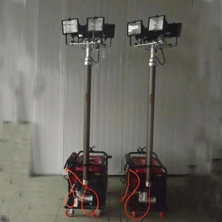 遥控升降照明车 移动照明升降车 应急移动照明车