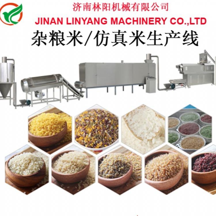 仿真米人造米设备  碎米粉再生米设备生产线