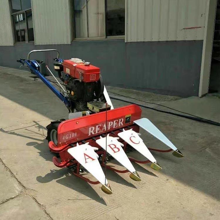 悍博直销稻麦收割机  厂家直销汽油割晒机  手推式稻麦收割机