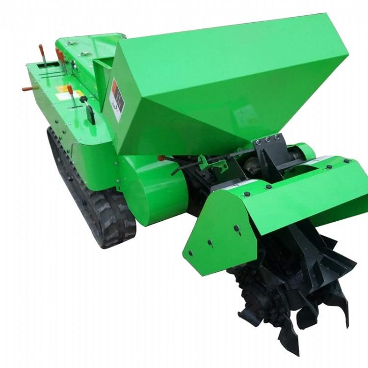 自走式履带开沟机 田园管理机价格  履带式旋耕松土机农耕机
