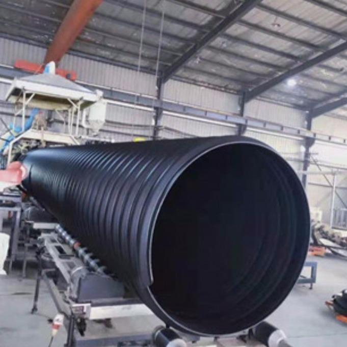 腾达汇泰大口径钢带管材 钢带增强波纹管 排污排水钢带波纹管行业资讯欢迎致电