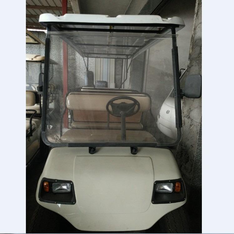 二手电动高尔夫车 8座电瓶车 八成新观光车带电池 公园观光车