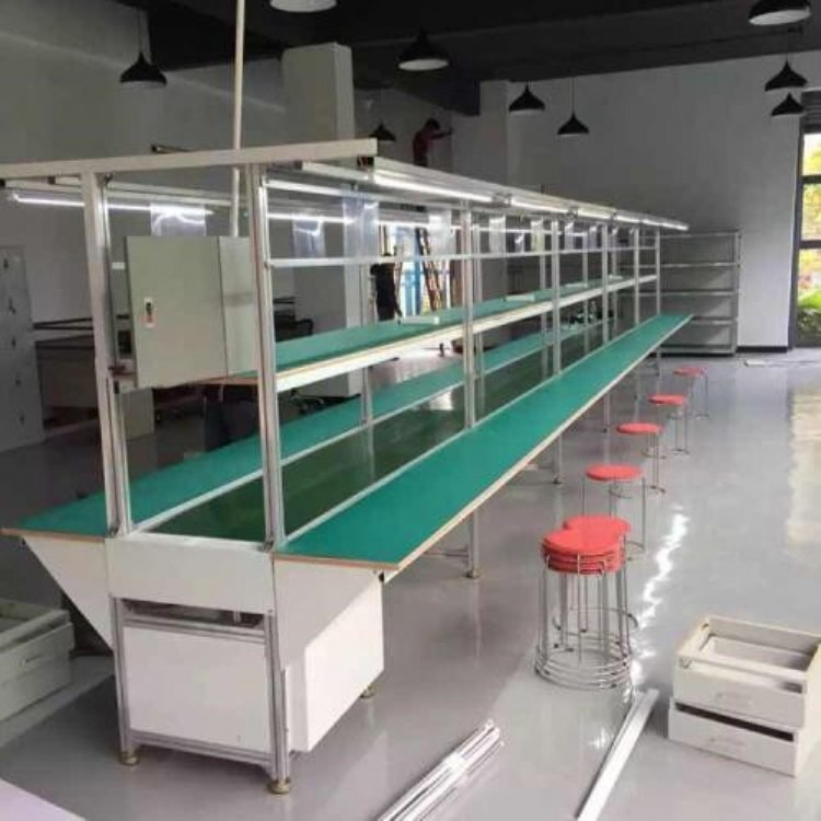 深圳 东莞 惠州 流水线 输送线 皮带生产线 防滑输送线