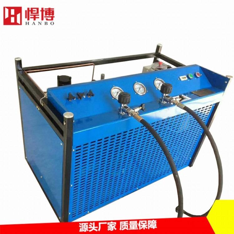 高压空气压缩机  呼吸空气高压充填泵 高压空气充气泵