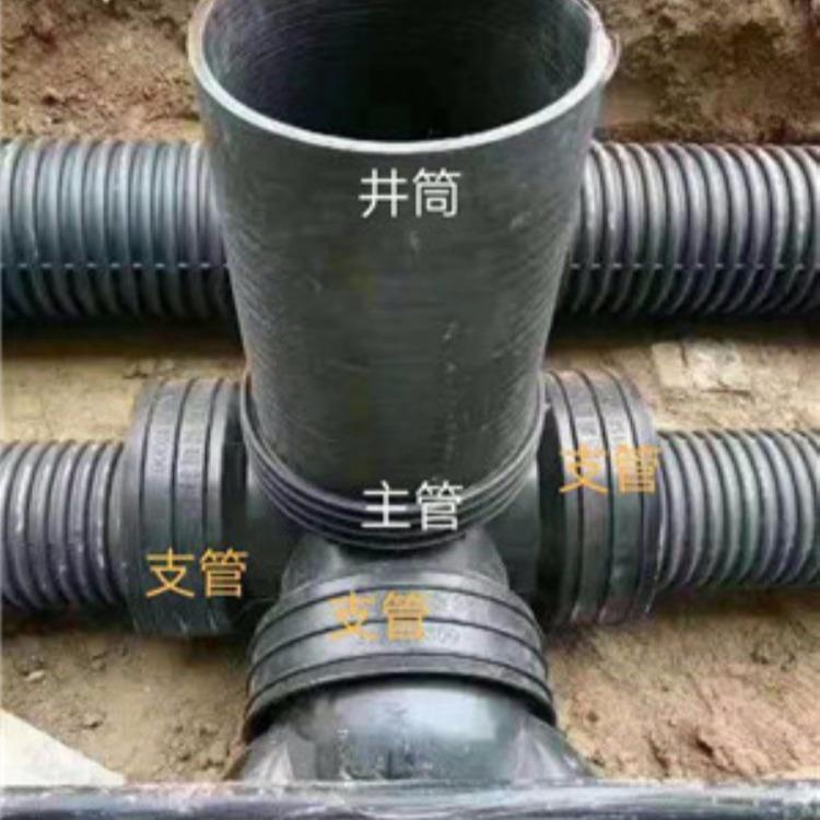 唐山长期供应一次注塑成型塑料检查井价格350/630  700/1000型号齐全