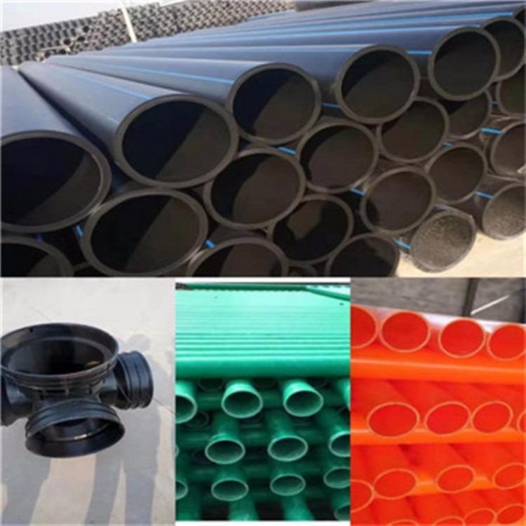 西北地区pe雨水弯头塑料检查井 污水雨水检查井 HDPE塑料检查井型号全全国发货