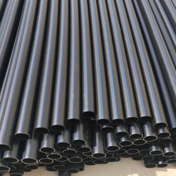 供应大口径PE给水管110 HDPE给水管管件 PE电保护管 大口PE给水管200每米价格