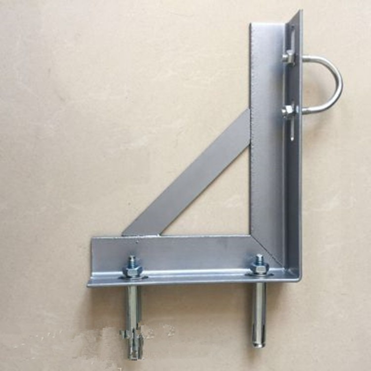 国标40三角铁 镀锌三角支架 管道支架 带扁铁三角架 天然气管道配套