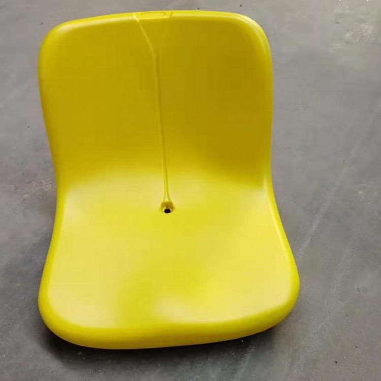 山东看台座椅厂家 SJ-A005中靠背中空塑料椅 体育馆看台座椅