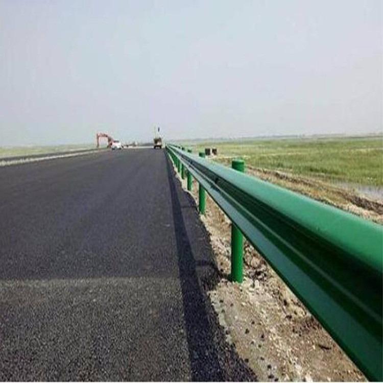 永善波形护栏安装弯曲道路波形护栏防撞护栏