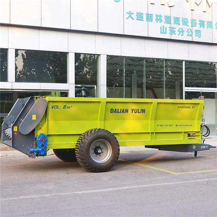 新型撒肥机,有机肥施肥机,农家肥撒肥机,大型撒粪机