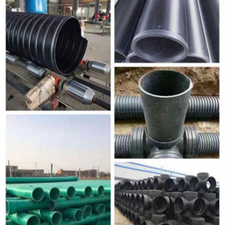 找山西聚乙烯PE钢带增强管 DN300排水排污管 钢带螺旋增强管