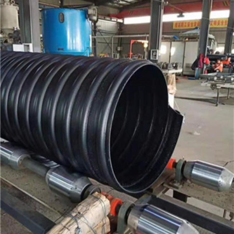 望都钢带增强波纹管DN300 SN10钢带管排污排水管 每米价格厂家直销