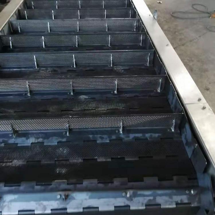 厂家定制304重载可调速转弯链板输送线|食品级不锈钢链板输送机|奥辉机械